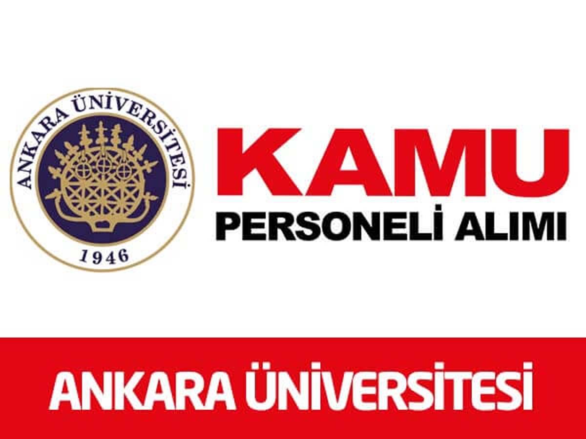 Ankara Üniversitesi 3 Sözleşmeli Personel Alımı