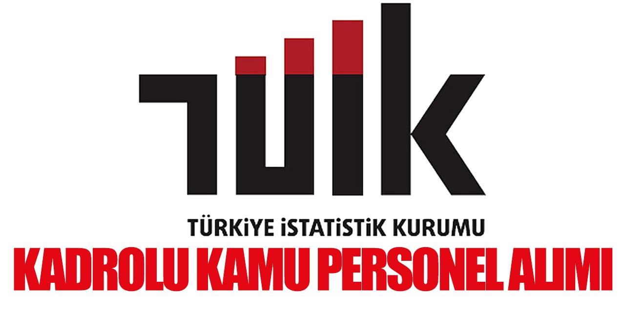 TUİK En Az İlkokul Mezun Kadrolu Kamu Personeli Alımı Yapıyor