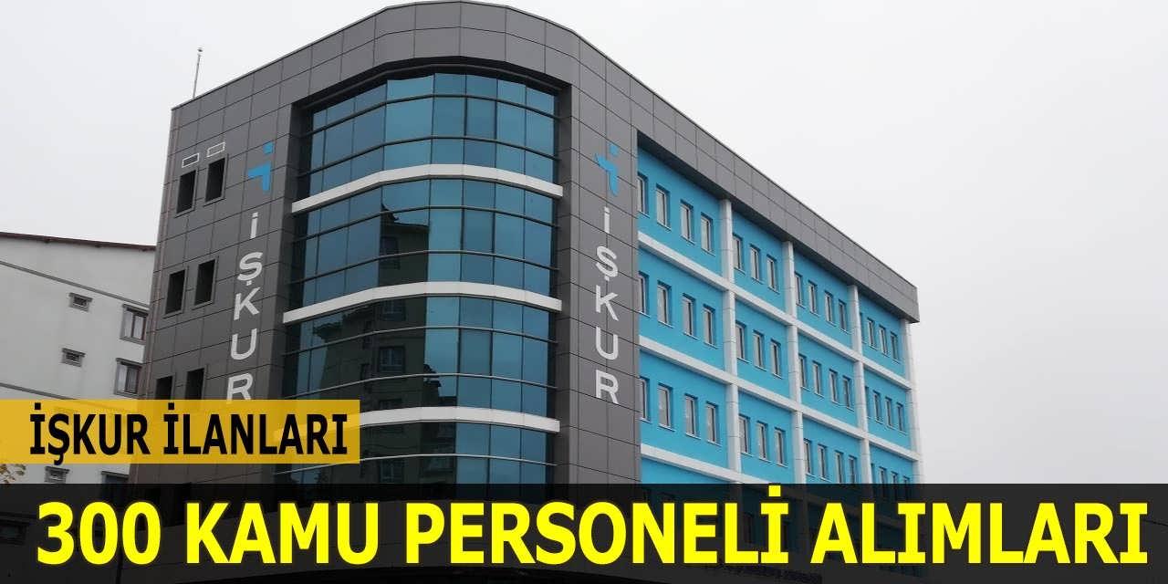 Türkiye İş Kurumu 300 Kamu Personeli Alacak