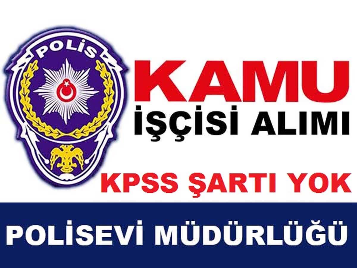 Çerkezköy Polisevi 1 Kamu İşçisi Alımı 2016