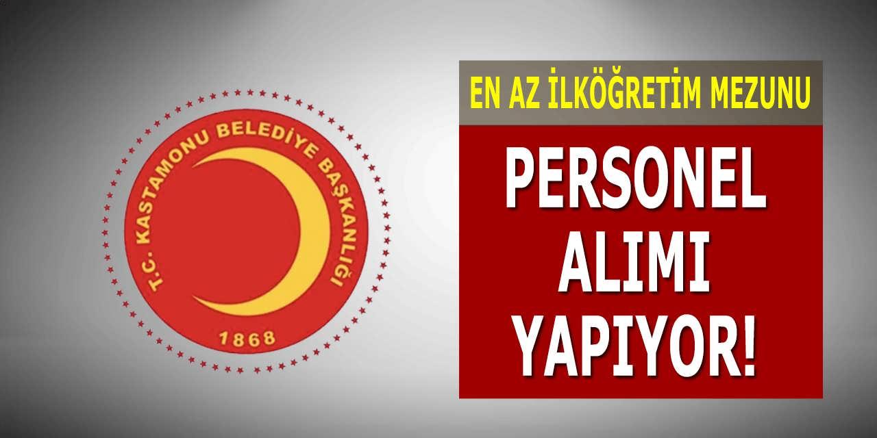 Belediye Başkanlığı KPSS Şartsız Personel Alımı Yapıyor