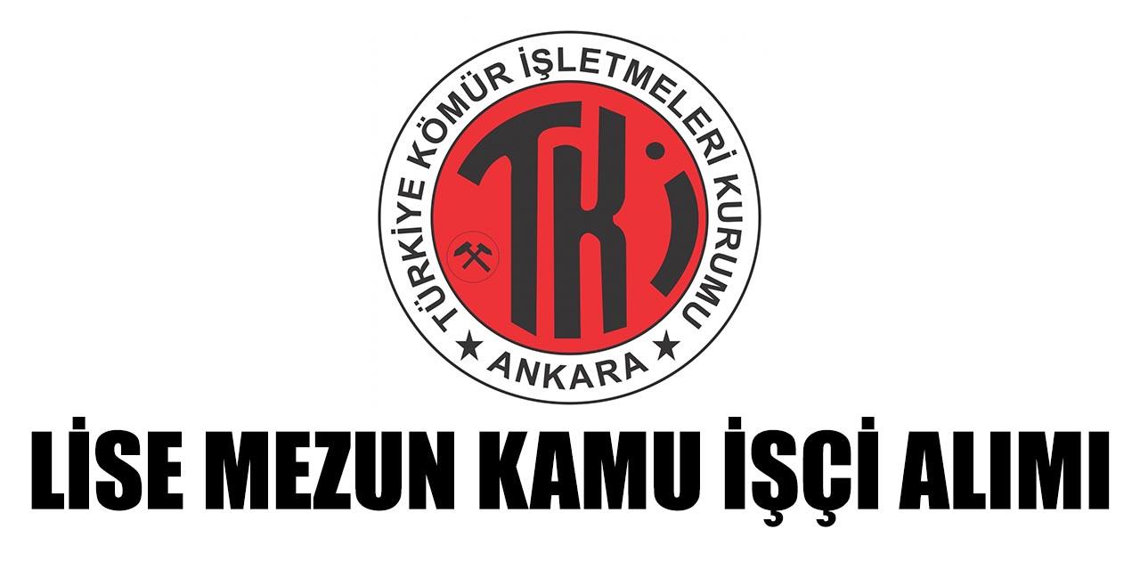 Türkiye Kömür İşletmeleri 9 Personel Alımı Yapıyor