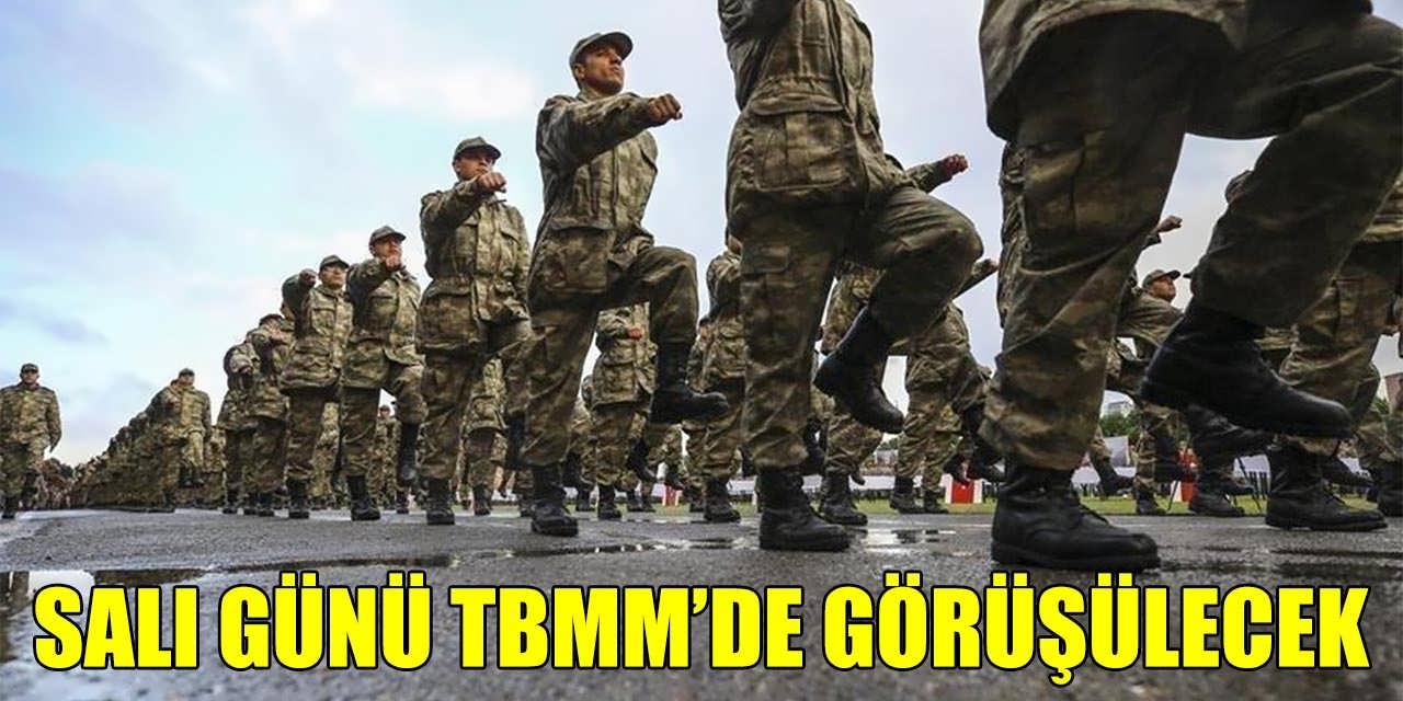 Askerlik Erken Terhis Müjdesi Salı Günü TBMM'de Görüşülecek