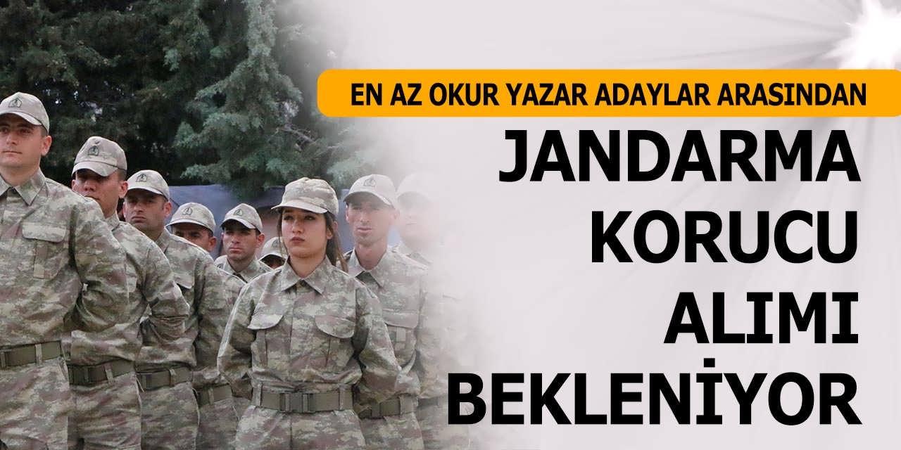 Jandarma'ya Mezuniyet Şartsız Korucu Alımları Bekleniyor-İşte Başvuru Şartları