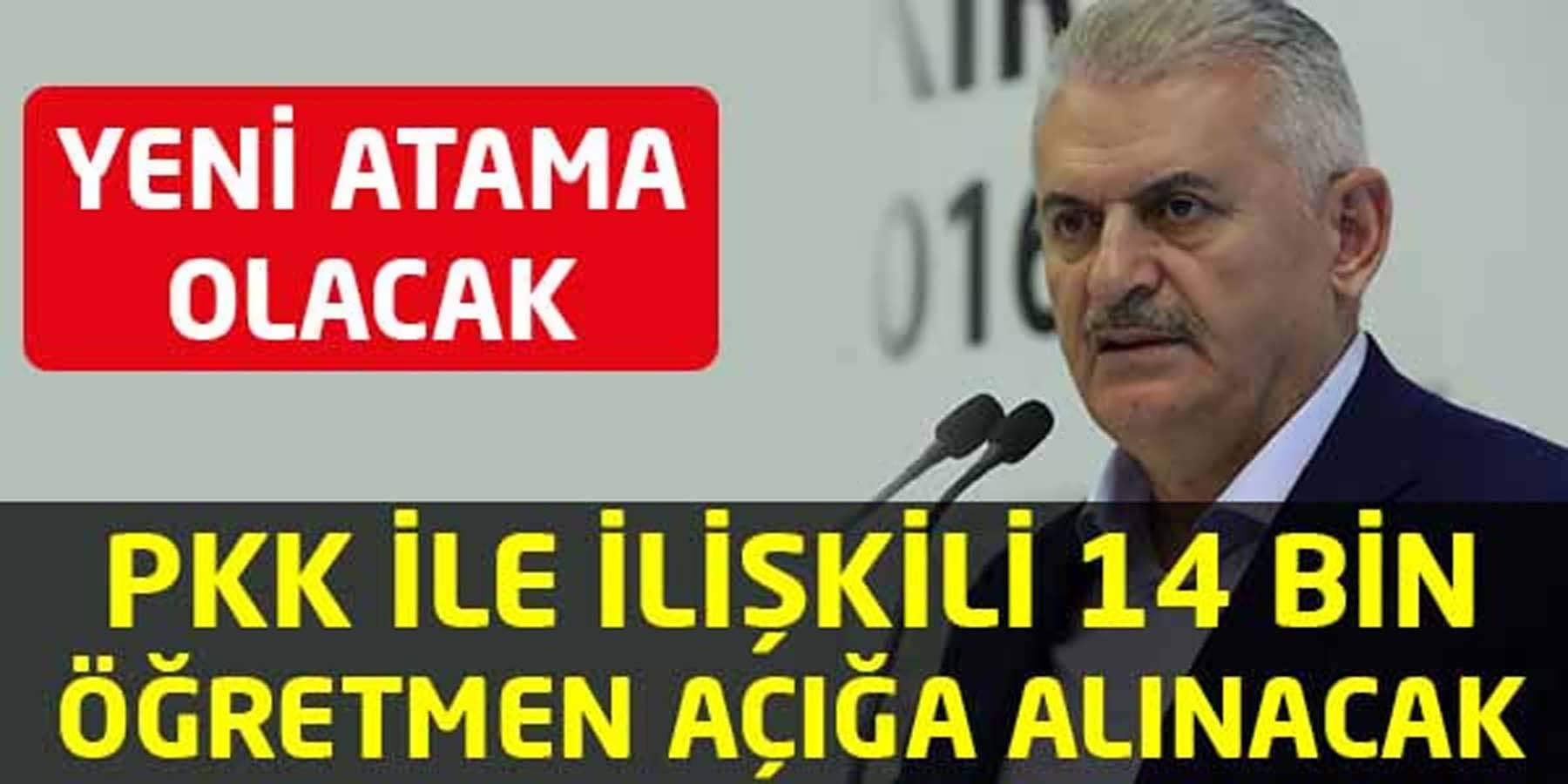 PKK ya Bulaşmış 14 Bin Öğretmen Açığa Alınıyor