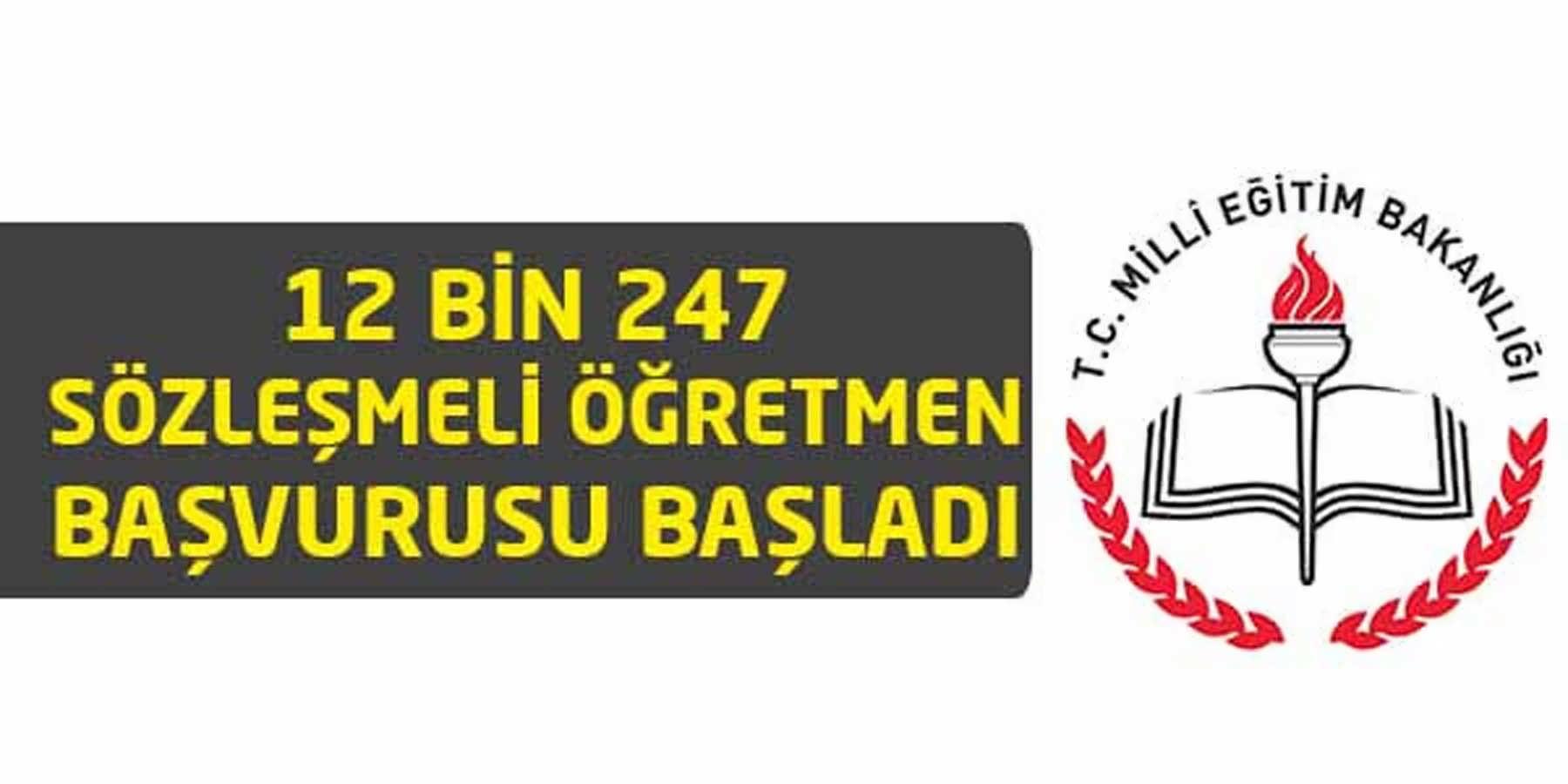MEB 12 Bin 247 Sözleşmeli Öğretmen Alımını Başlattı