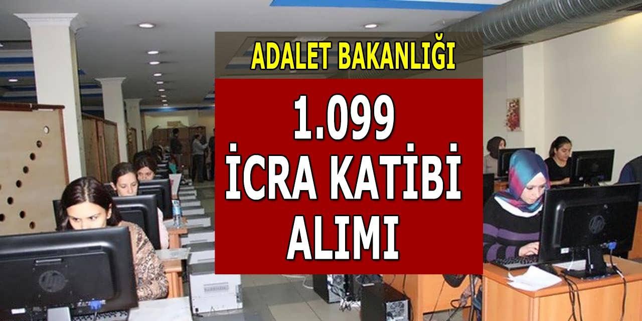 1.099 İcra Katibi Alımı 28 Haziran Adalet Bakanlığı İlanı