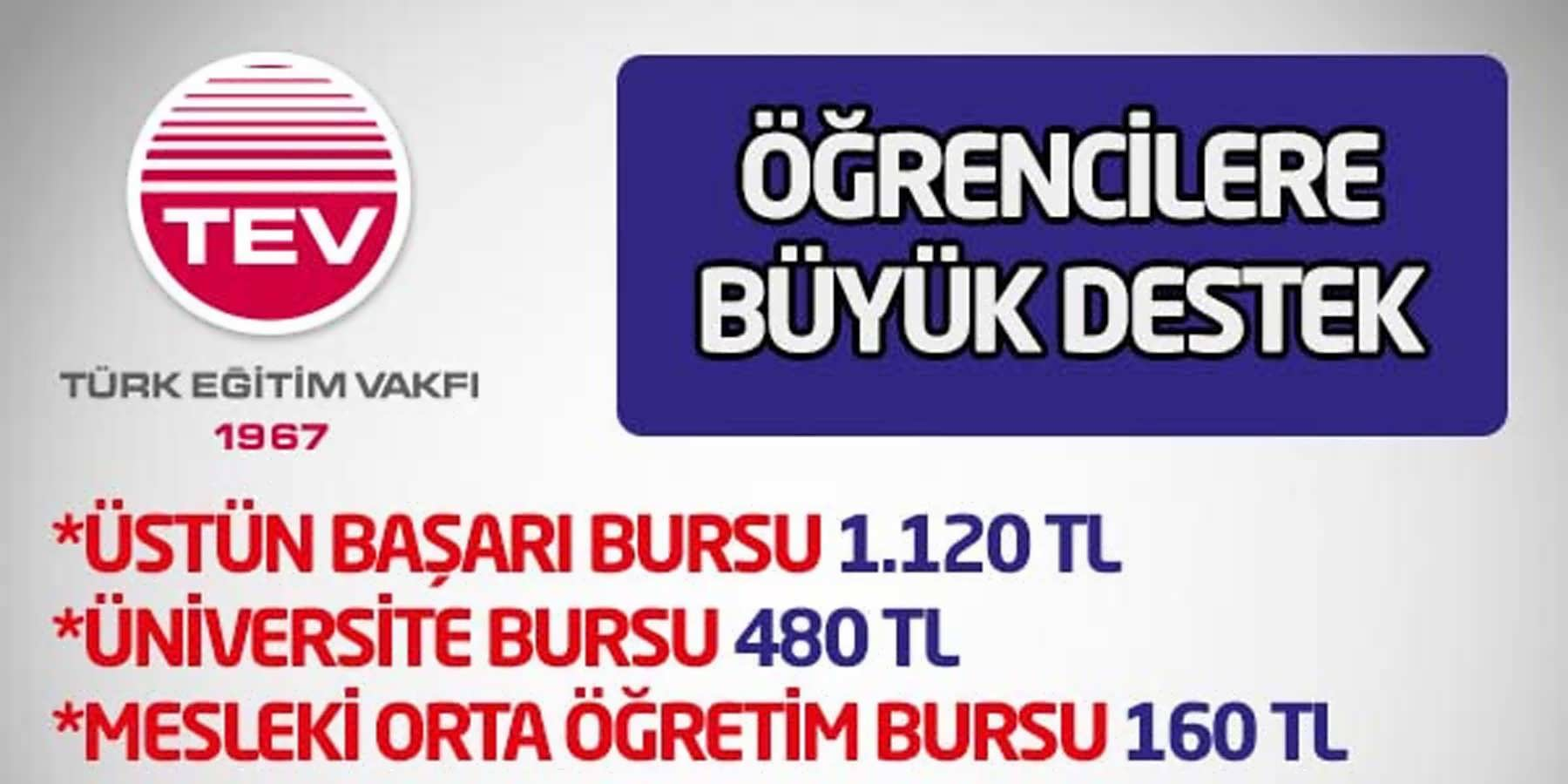 Türk Eğitim Vakfından Öğrencilere Büyük Destek