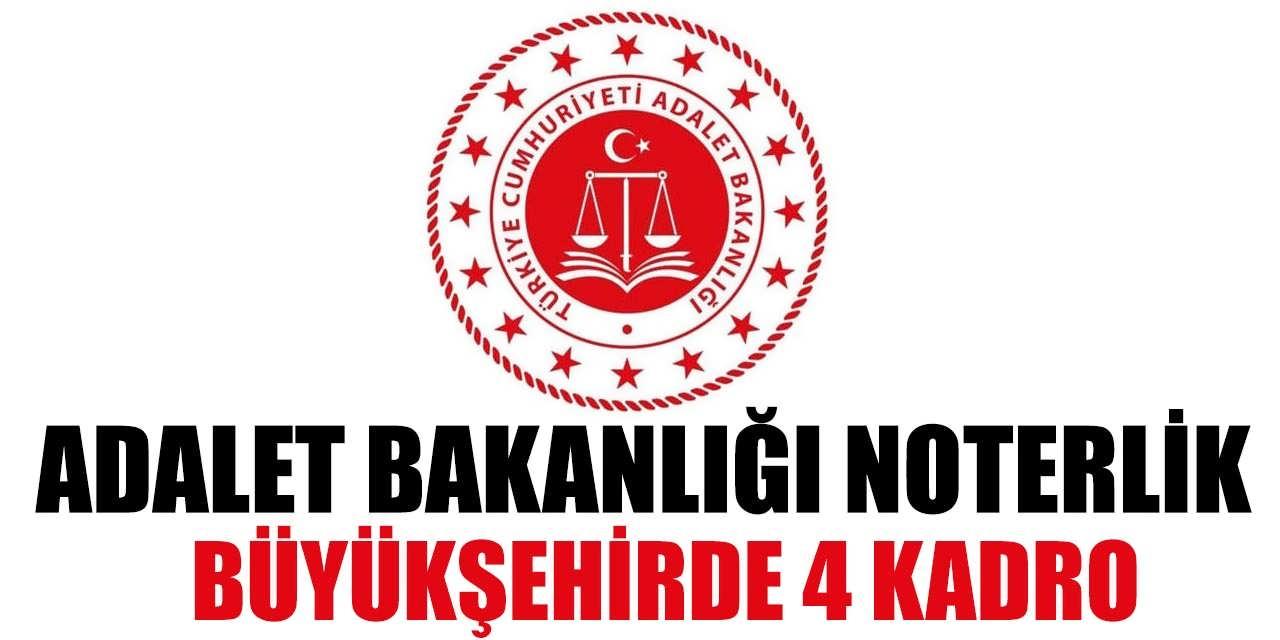 Adalet Bakanlığı 4 Noter Kadrosu Paylaştı