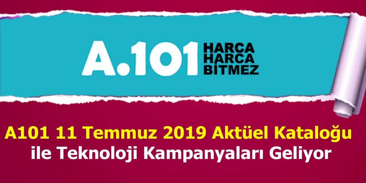 A101 11 Temmuz 2019 Aktüel Kataloğu ile Teknoloji Kampanyaları Geliyor