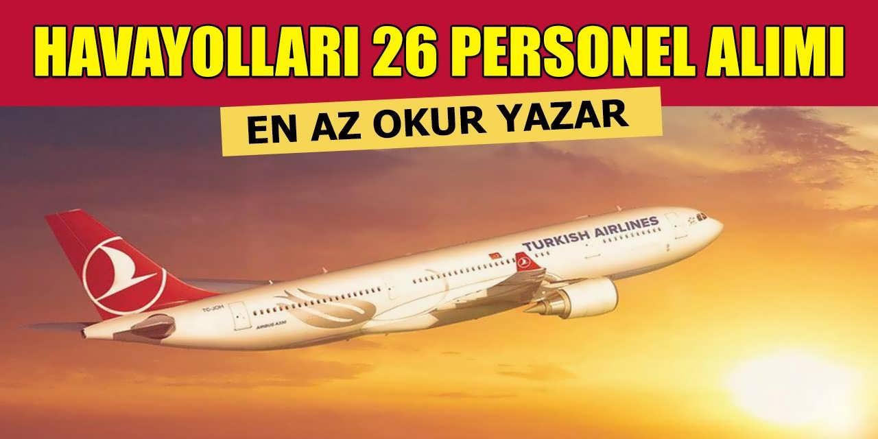 Havayolları İŞKUR İş İlanları Üzerinden 26 Personel Alınacak