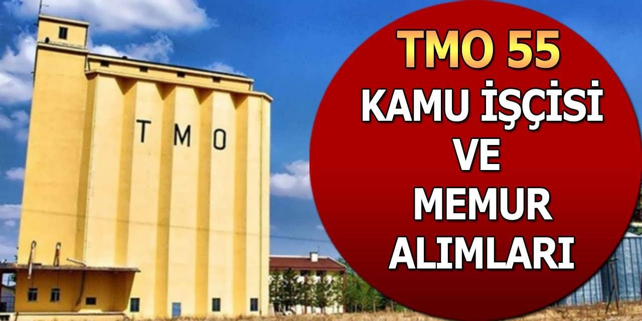 TMO Lise Mezun 55 Kamu İşçisi ve Memur Alımları