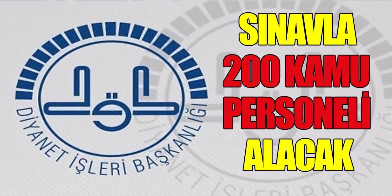 Diyanet Sınavla Atama Yapmak Üzere 200 Personel Alacak