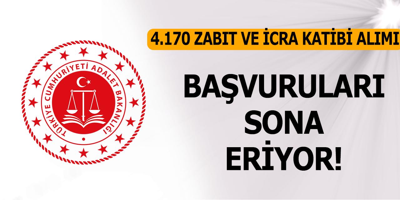 Adalet Bakanlığı 4 Bin 170 Zabıt Katibi ve İcra Katibi Alımı Başvuruları Sona Eriyor