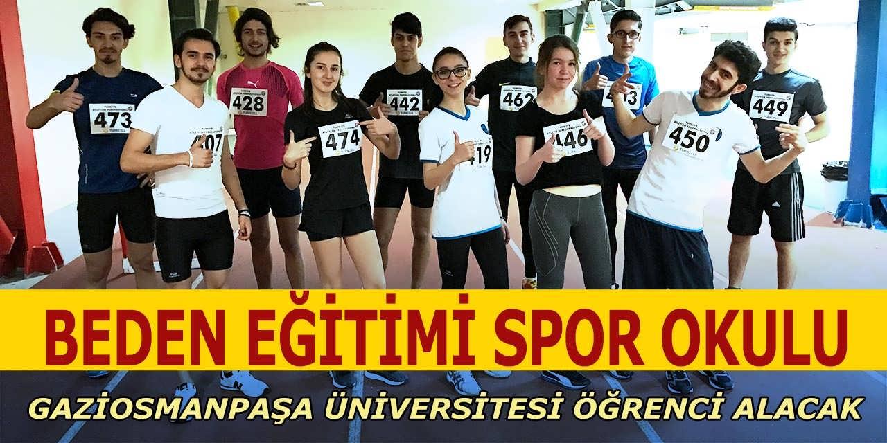 Gaziosmanpaşa Üniversite Beden Eğitimi Spor Okulları Öğrenci Alımları Yayınladı