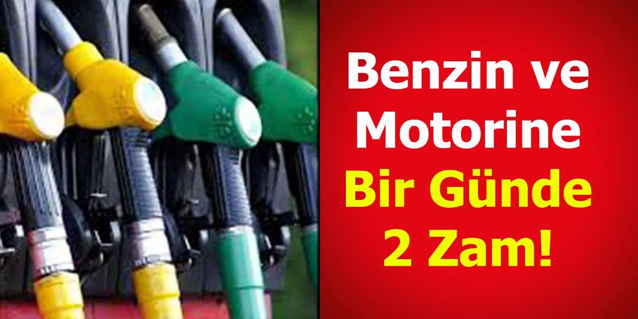 Benzin ve Motorine Bir Günde Yüzde 2 Zam! İki Zam Birden