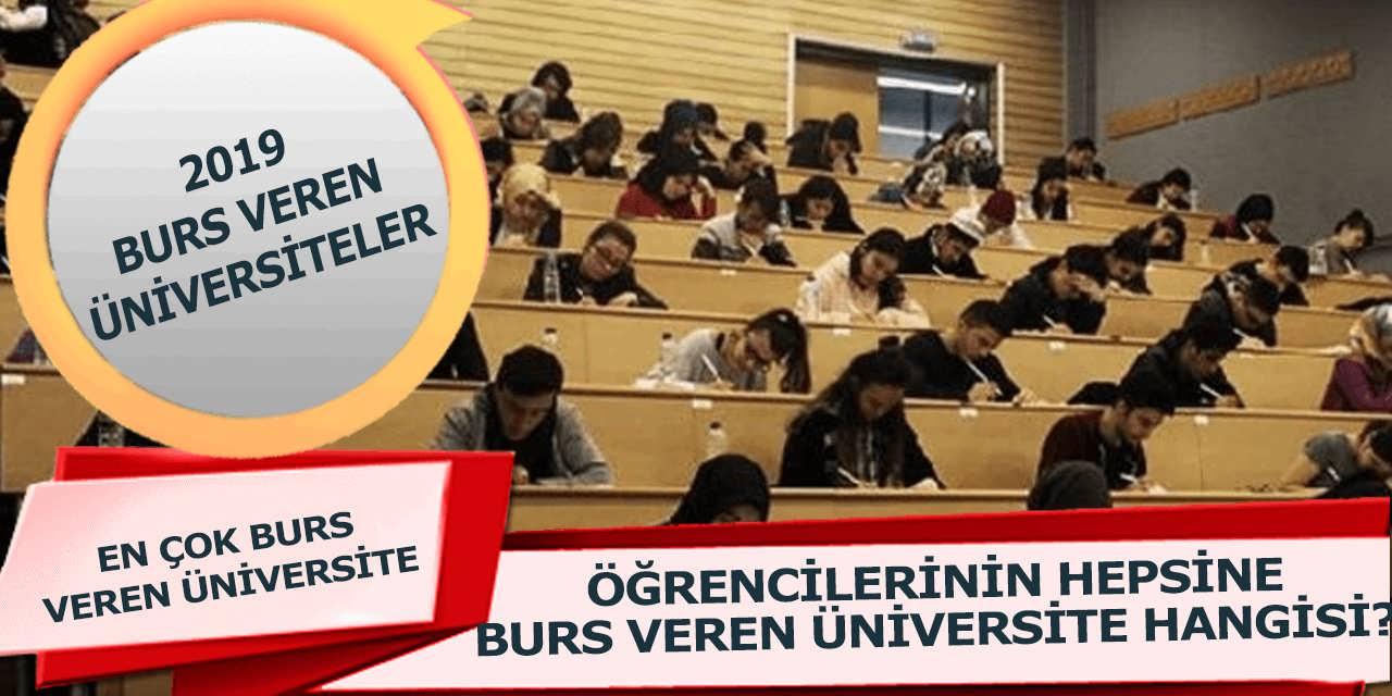 2019 Burs Veren Üniversiteler Belli Oldu Hangi Üniversiteler Burs Veriyor