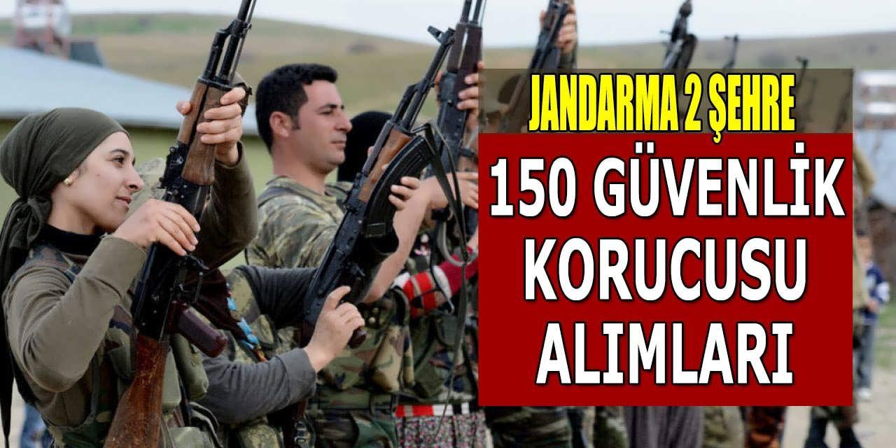 Jandarma 2 Şehre 150 Güvenlik Korucusu Alımı; JGK Alımına Kimler Başvurabilir?