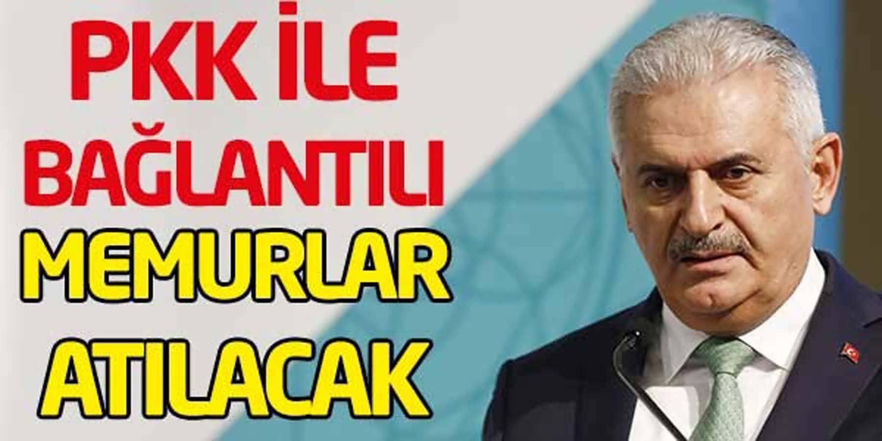PKK İle Bağlantılı Memurlar Atılacak