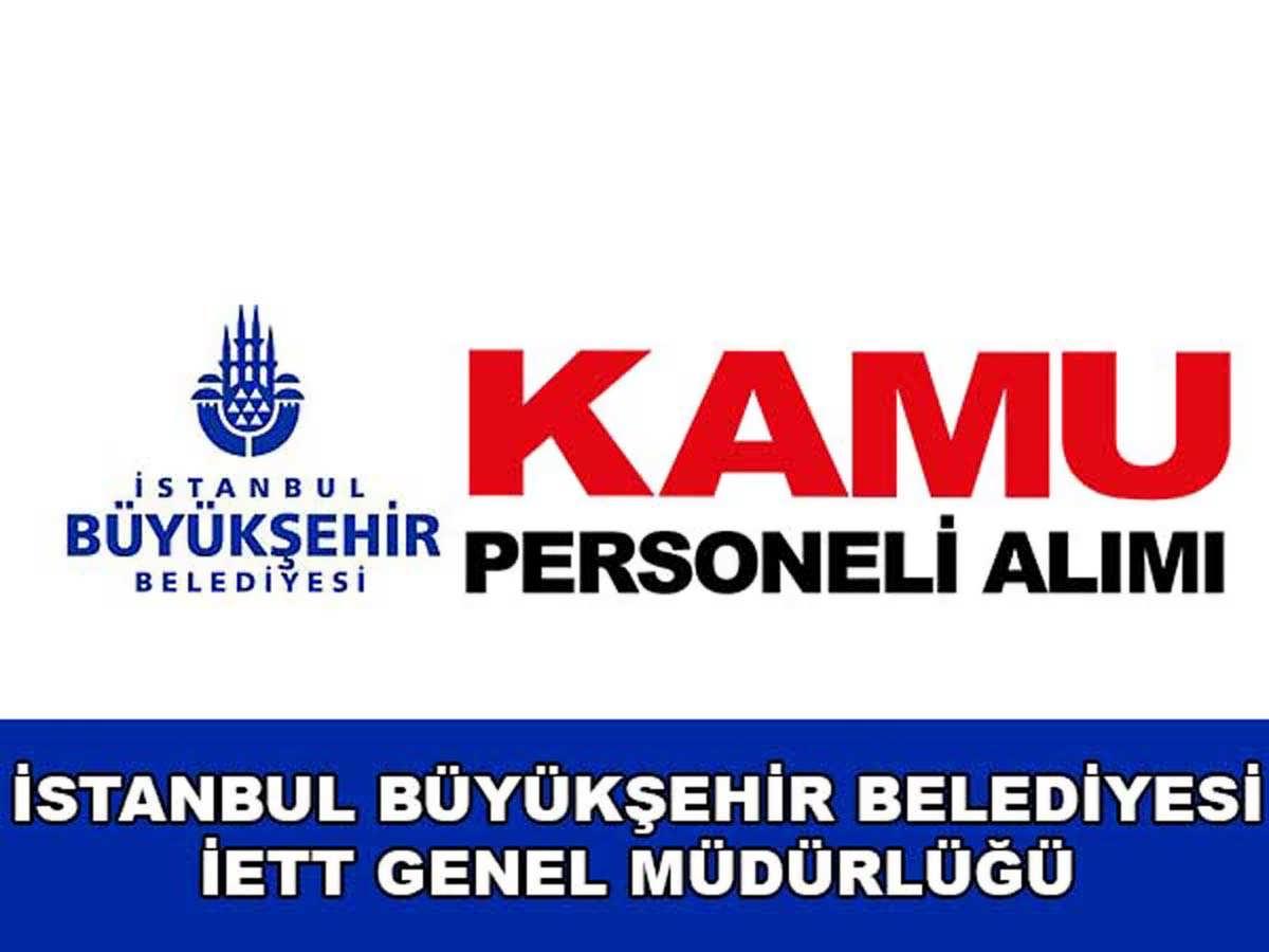 İstanbul BB Kamu Personeli Alımı 2016