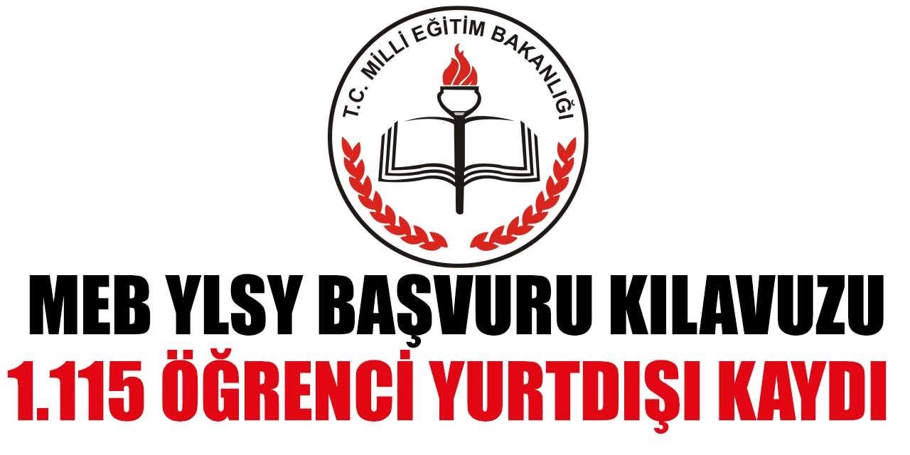 1.115 Öğrenci Yurtdışı MEB YLSY Başvuru Kılavuzu