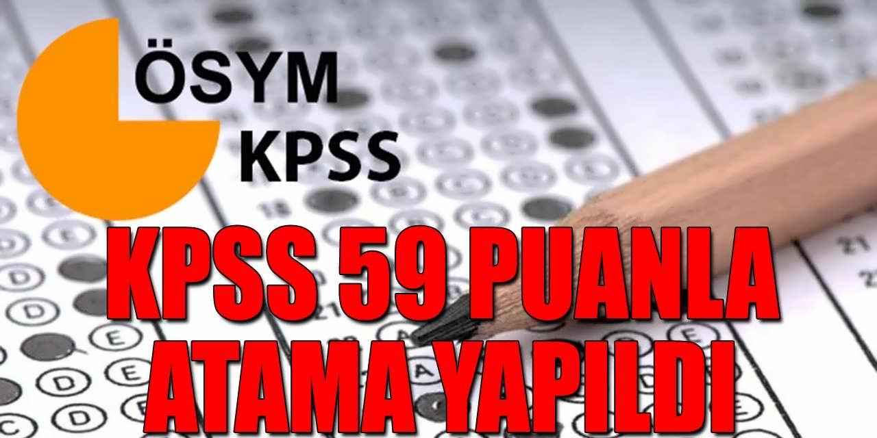 59 KPSS Puan İle Atama Yapıldı; MEB 20 Bin Atama Sonuçları