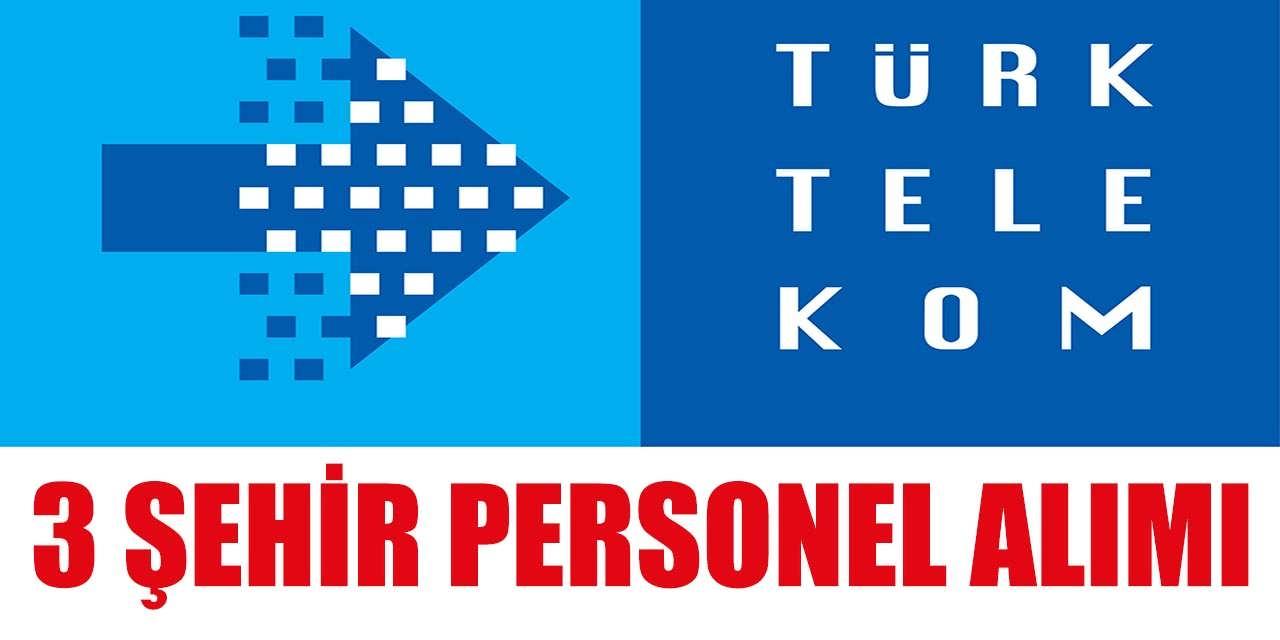 İŞKUR Türk Telekom Bayii 3 Şehir Danışman ve Teknisyen Alımları