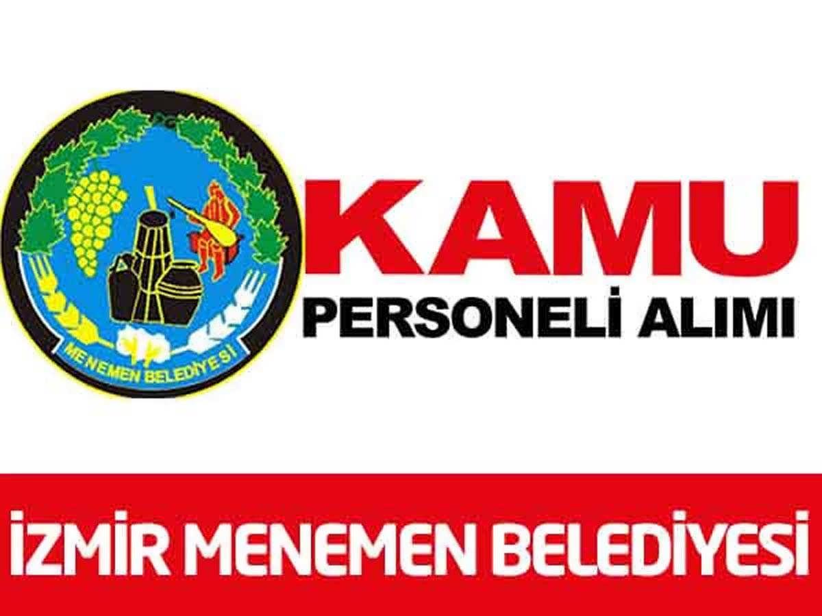 İzmir Menemen Belediyesi Bahçivan Alımı