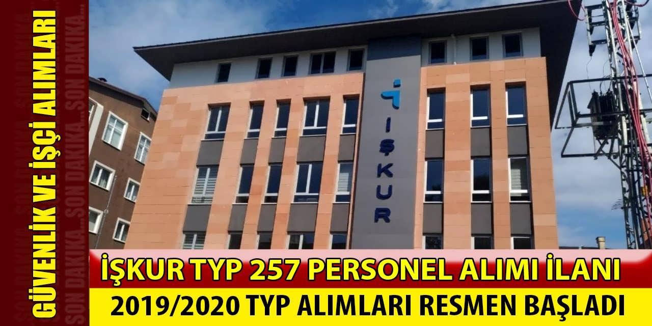 TYP 257 Personel Alımı! TYP Başvuruları Başladı