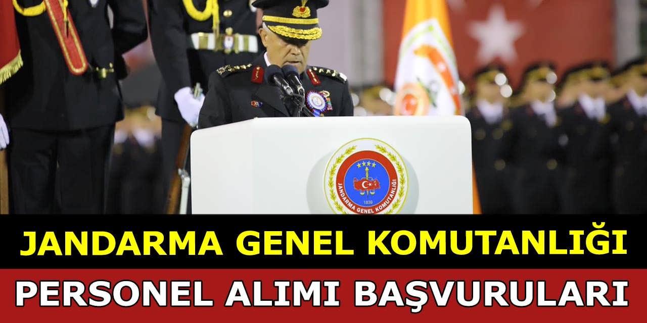Jandarma Akademik Personel Alımı Başvuruları 29 Ağustos'ta Bitiyor