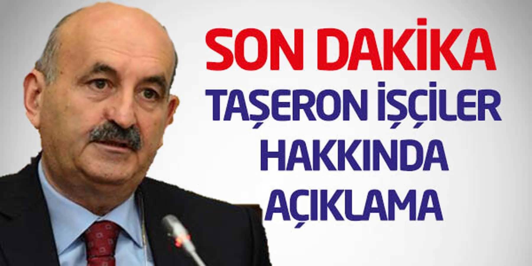Mehmet Müezzinoğlu 22 Eylül Taşeron İşçiler Hakkında Açıklama
