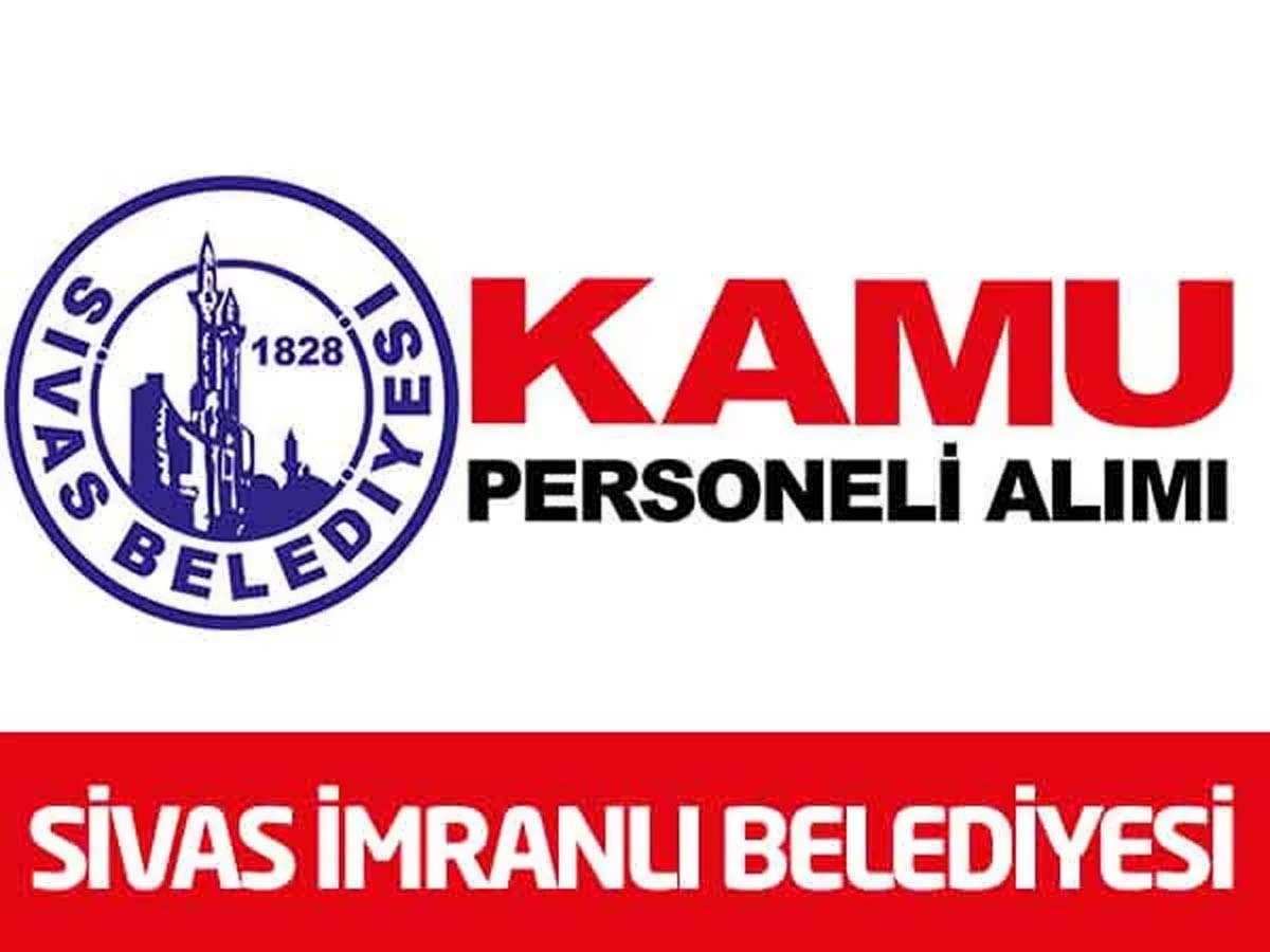 Sivas İmranlı BelediyeBaşkanlığı 9 İşçi Alımı