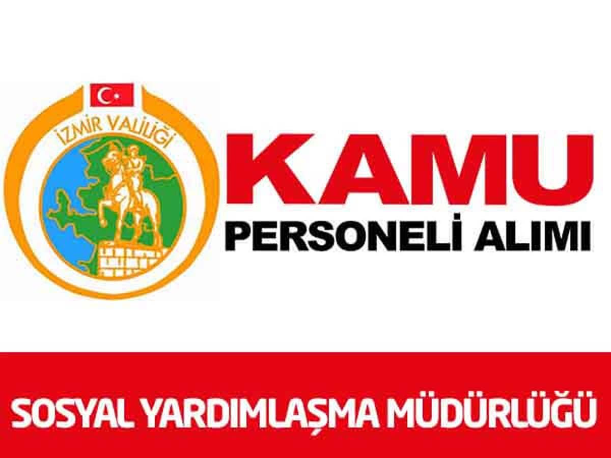 İzmir Konak SYDV Müdürlüğü 2 Personel Alımı