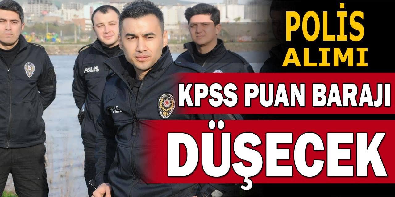 Önlisans Mezunu Polis Alımlarında KPSS Baraj Düşürülecek