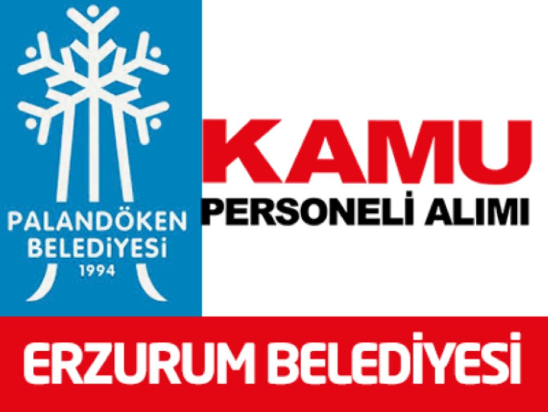 Erzurum Palandöken Belediye Başkanlığı 1 İşçi Alımı