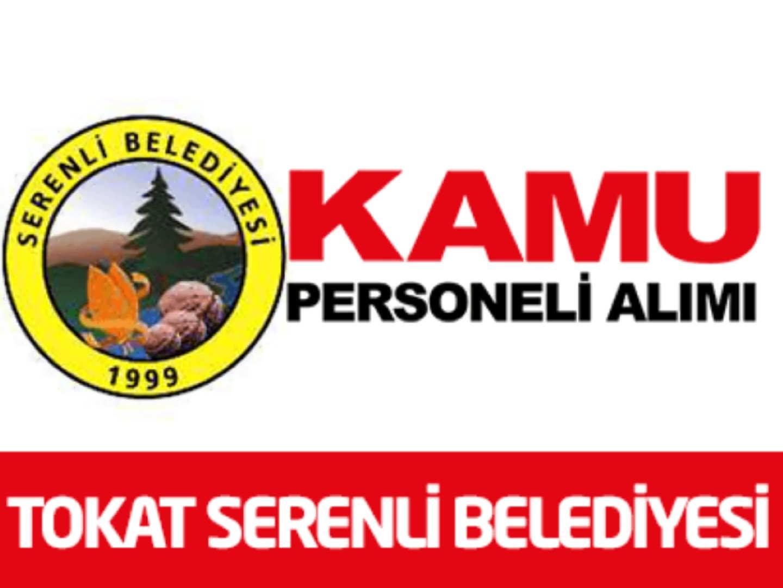 Tokat Serenli Belediye Başkanlığı 2 İşçi 2 Büro Personeli Alımı