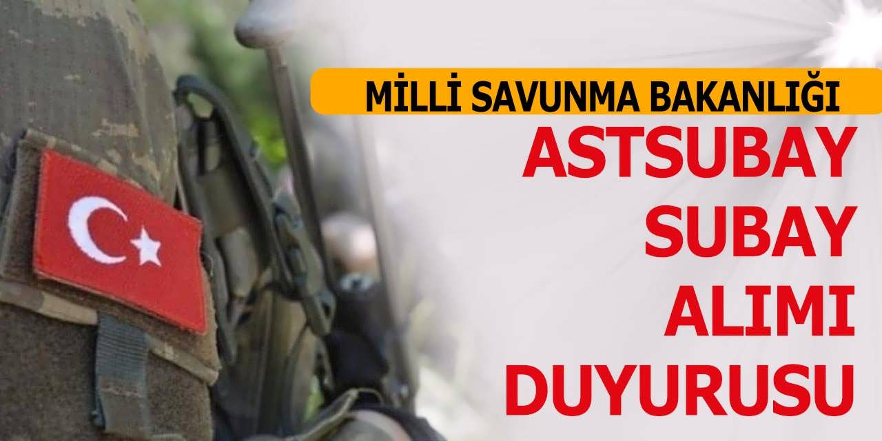 MSB 2019 Bando Sınıfı Astsubay ve Subay Alımı Duyurusu