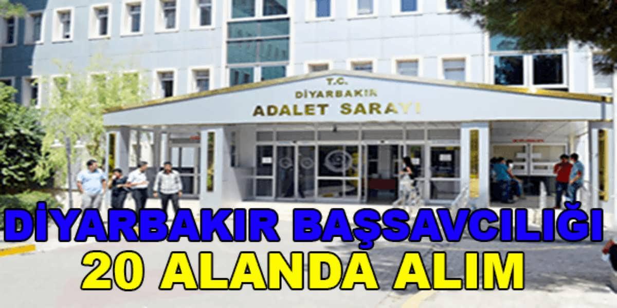 Diyarbakır Cumhuriyet Başsavcılığı 20 Alanda Tercüman ve Bilirkişi Alımı