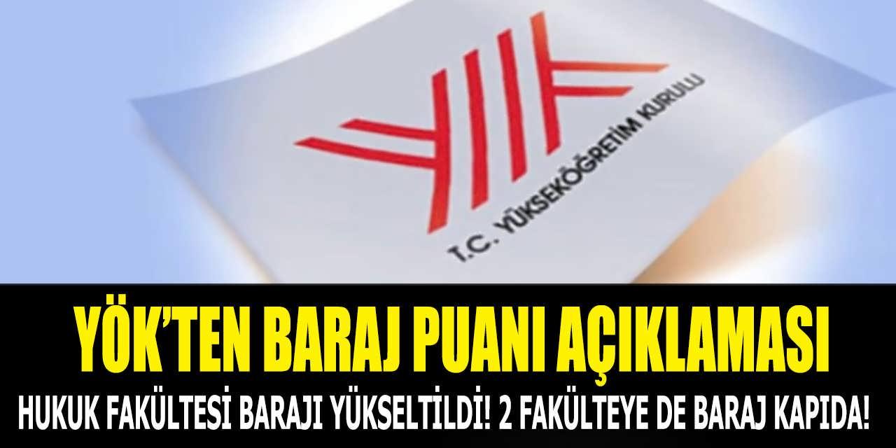 Hukuk Fakültesi Barajı Yeniden Yükseltildi!