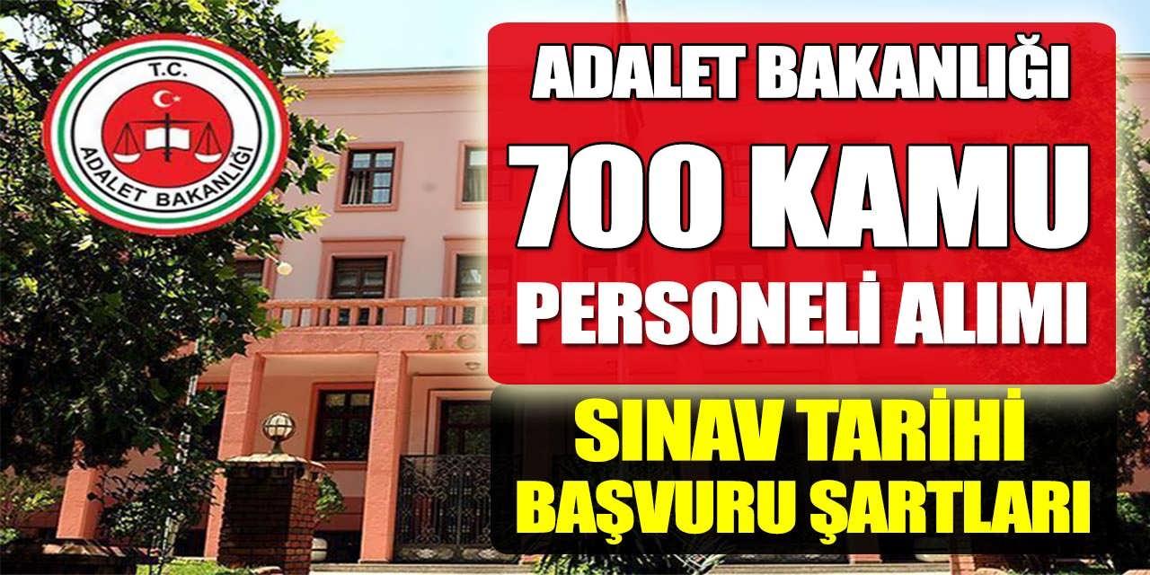 Adalet Bakanlığı Yüksek Maaşlı 700 Kamu Personeli Alımı Başvuru Şartları
