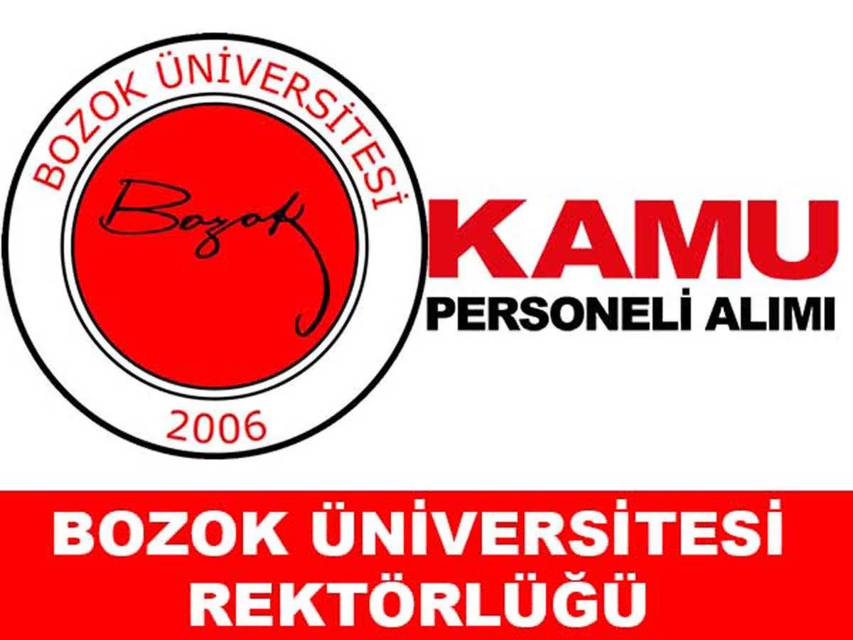 Bozok Üniversitesi Sözleşmeli Ebe Hemşire ve Sağlık Personeli Alımı