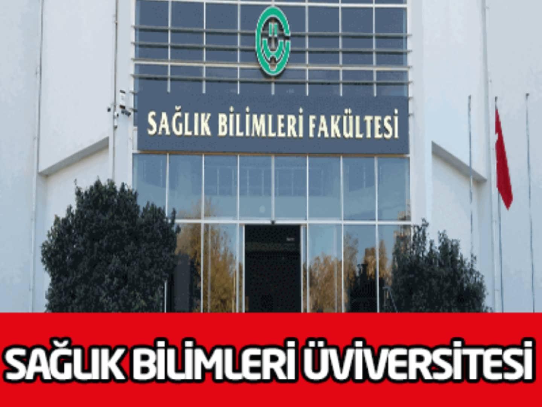 Sağlık Bilimleri Üniversitesi 8 Personel Alımı