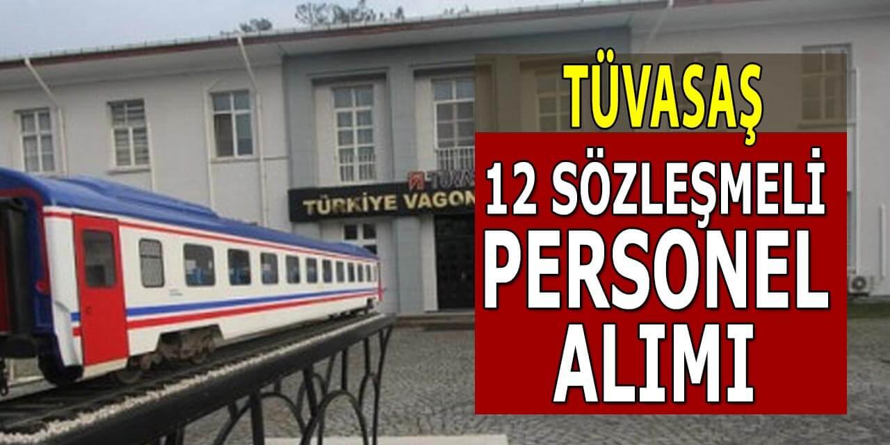 TÜVASAŞ 12 Sözleşmeli Personel Alımı; Milli Tren Projesi