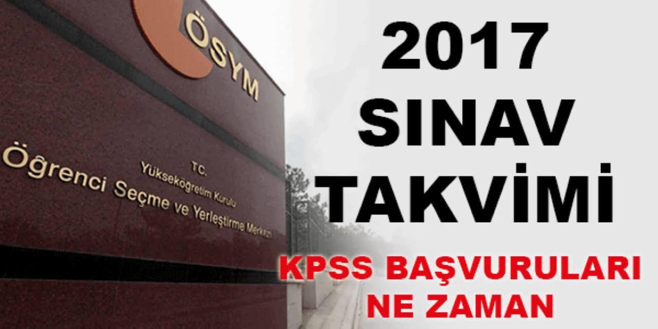 2017 KPSS Ne Zaman Belli Oldu
