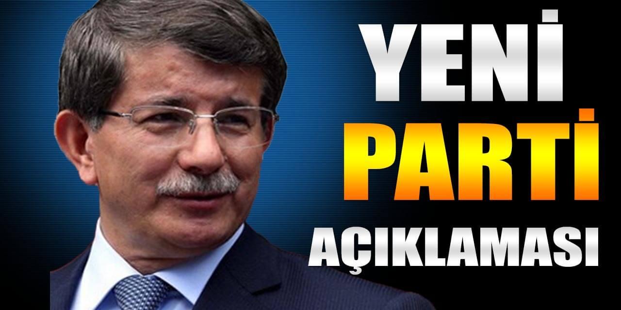 Davutoğlu Yeni Parti Açıklaması İle Gündeme Oturdu