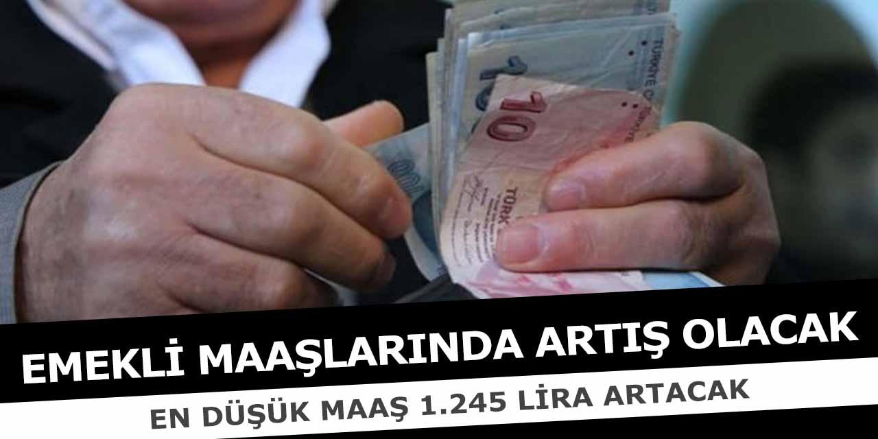 Emeklilere En Az 1.245 Lira Verilecek