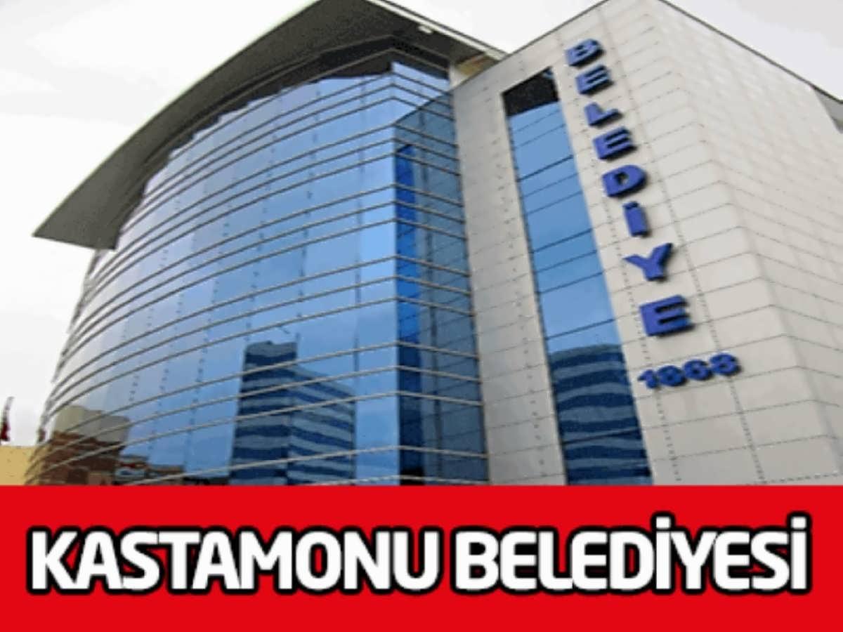 Kastamonu İnebolu Belediye Başkanlığı 3 İşçi Alım İlanı