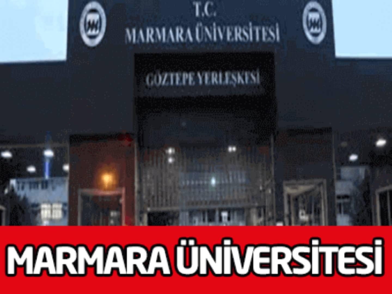 Marmara Üniversitesi İşçi Alım İlanı