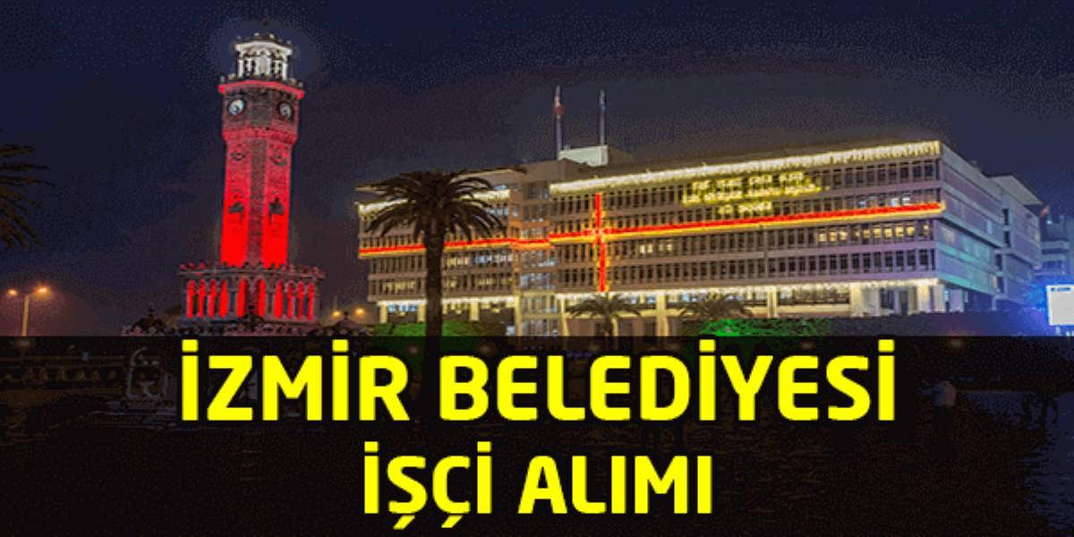 İzmir Menemen Belediyesi 23 İşçi Alımı