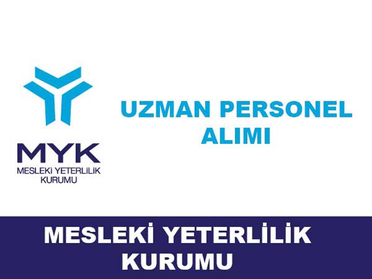 MYK Uzman Personel Alımı 2016
